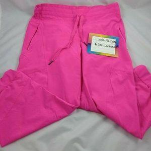 SZ M BCG Neon Pink Athletic Capri Pant